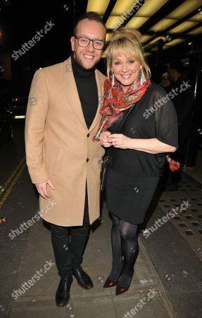 Daniel Whiston and Cheryl Baker