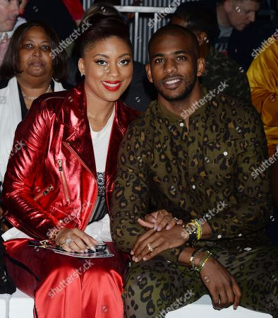 Chris Paul and Jada Crawley in the front row
