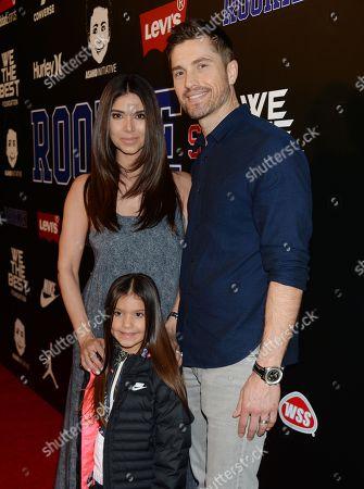 Roselyn Sanchez, husband Eric Winter and daughter Sebella Rose Winter
