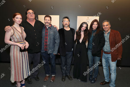 Editorial picture of Bleecker Street Special film Screening of 'Nostalgia', Los Angeles, USA - 15 Feb 2018