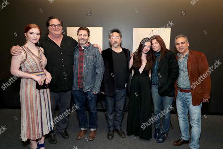 Annalise Basso, Writer/Director/Producer Mark Pellington, Nick Offerman, Producer Tom Gorai, Mikey Madison, Catherine Keener and John Ortiz