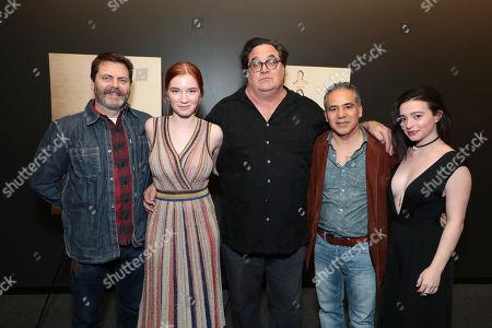 Editorial image of Bleecker Street Special film Screening of 'Nostalgia', Los Angeles, USA - 15 Feb 2018