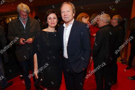 Sandra Maischberger, husband Jan Kerhart