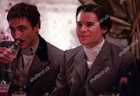 'Doctor Zhivago' - Mischa (Daniele Liotti) and Yury (Hans Matheson)