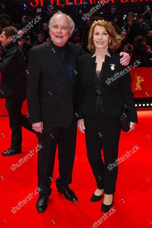 Michael Verhoeven, wife Senta Berger