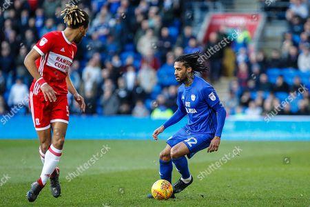 Armand Traore of Cardiff City