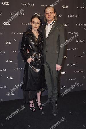 Wilson Gonzalez Ochsenknecht and Lorraine Bedros