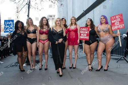 Stock Image of CoCo Brown, Eleanor Brooker, Sonny Turner, Hayley Hasselhoff, Laura Goodwin, Poppy Towers, Callie Thorpe and Megan Crabbe