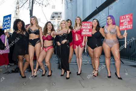 Stock Picture of CoCo Brown, Eleanor Brooker, Sonny Turner, Hayley Hasselhoff, Laura Goodwin, Poppy Towers, Callie Thorpe and Megan Crabbe