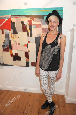Editorial picture of Tahnee Lonsdale at a Showing of Her Latest Collection of Paintings, 'Metropolis', Gallery 5, Notting Hill, London, Britain - 17 Jun 2009