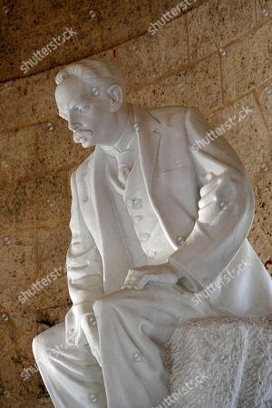 Monument of Jose Marti, mausoleum, Cementerio Santa Ifigenia, Santiago de Cuba, Cuba