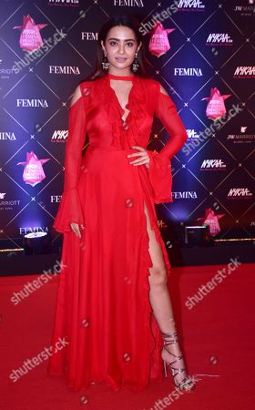 Editorial photo of Nykaa Femina Beauty Awards, Mumbai, India - 15 Feb 2018