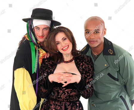 'Night and Day'   TV  Dominic Rickhards (Mike), Sally Dexter (Natalie) and Sean Francis (Will)