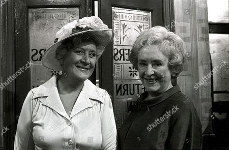 'Coronation Street'   TV  Nellie Harvey [Mollie Sugden], Annie Walker [Doris Speed]