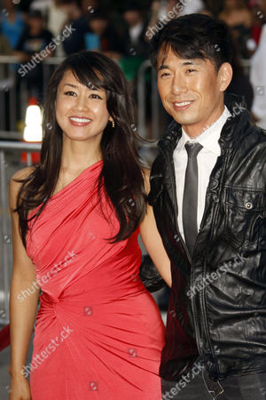 Stock Picture of Eriko Tamura and James Kyson Lee