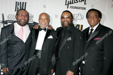 Eddie Holland, Berry Gordy, Brian Holland and Lamont Dozier