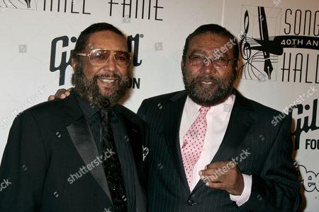 Eddie Holland Jr.and Brian Holland