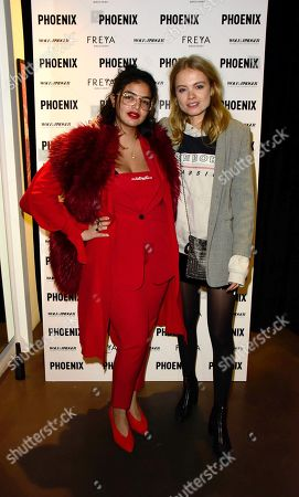 Editorial photo of Wolf & Badger and Phoenix 'A Celebration of Independence' party, London Fashion Week, UK - 15 Feb 2018