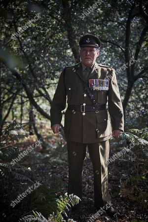 Stock Image of Ian Pirie as Lt Col McDuff