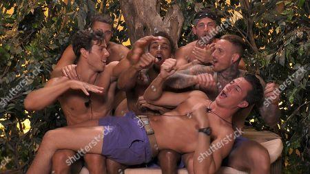 Callum Pardoe, Tristan Jones, James Middleton, Warren Phillips, Ryan Cleary and David Lundy
