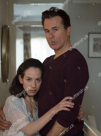 Peter Sullivan as Phil Dawkins and Amy Dawson as Nina.