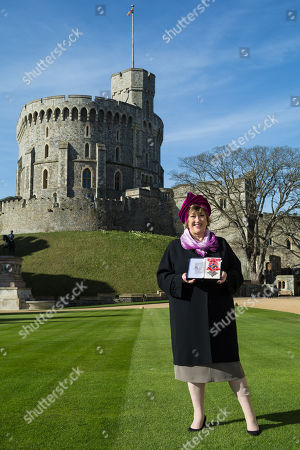 Editorial photo of Investiture ceremony at Windsor Castle, Berkshire, UK - 16 Feb 2018