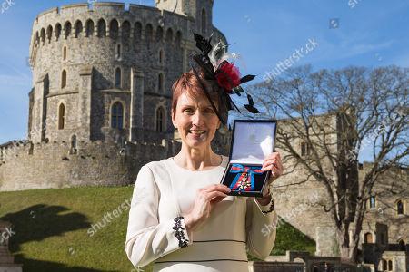 Editorial image of Investiture ceremony at Windsor Castle, Berkshire, UK - 16 Feb 2018