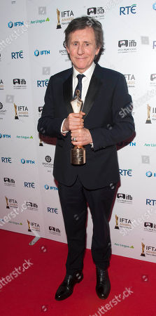 Gabriel Byrne is honoured with Lifetime Achievement Award at the The 2018 IFTA Film & Drama Awards Ceremony