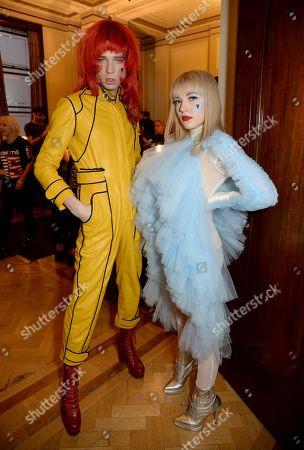 Josh Quinton and Ellie Rae Winstone backstage