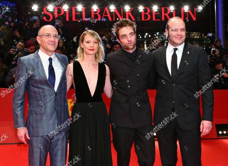 David Zellner, Mia Wasikowska, Robert Pattinson and Nathan Zellner