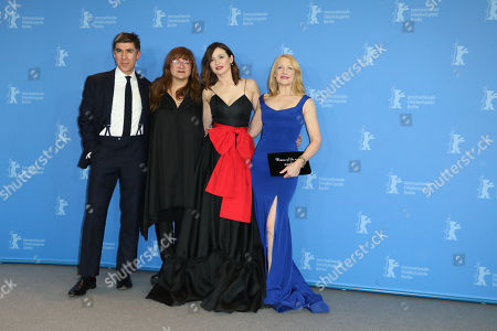James Lance, Isabel Coixet, Emily Mortimer and Patricia Clarkson
