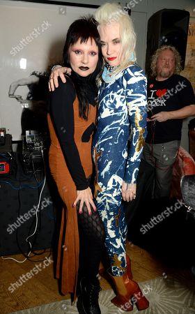 Princess Julia and Pam Hogg