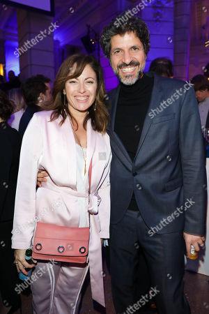 Carolina Vera Squella and Pasquale Aleardi