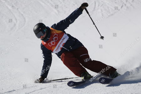 Devin Logan of the US competes in the Women's Freestyle Skiing Ski Slopestyle competition at the Bokwang Phoenix Park during the PyeongChang 2018 Olympic Games, South Korea, 17 February 2018.