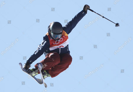 Devin Logan of the US during competition in the Women's Freestyle Skiing Ski Slopestyle competition at the Bokwang Phoenix Park during the PyeongChang 2018 Olympic Games, South Korea, 17 February 2018.