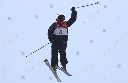 Editorial image of Freestyle Skiing - PyeongChang 2018 Olympic Games, Bongpyeong-Myeon, Korea - 17 Feb 2018