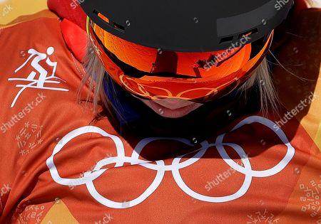 Editorial photo of Olympics Freestyle Skiing Women, Pyeongchang, South Korea - 17 Feb 2018