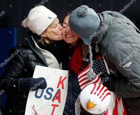Editorial picture of Olympics Skeleton, Pyeongchang, South Korea - 17 Feb 2018