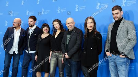 Editorial picture of Dovlatov - Photocall - 68th Berlin Film Festival, Germany - 17 Feb 2018