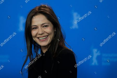 Stock Picture of Actress Elena Lyadova poses at the photo-call on the film Dovlatov during the 68th edition of the International Film Festival Berlin, Berlinale, in Berlin, Germany
