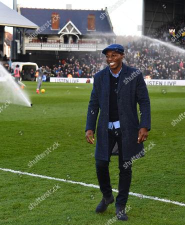 Stock Image of Ex Fulham player Luis Boa Morte