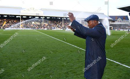 Stock Picture of Ex Fulham player Luis Boa Morte