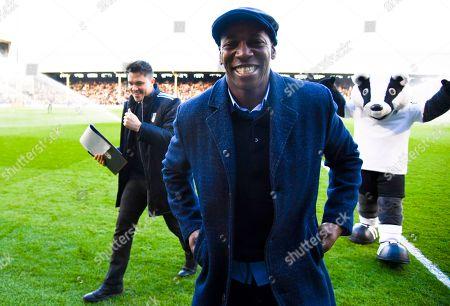 Ex Fulham player Luis Boa Morte