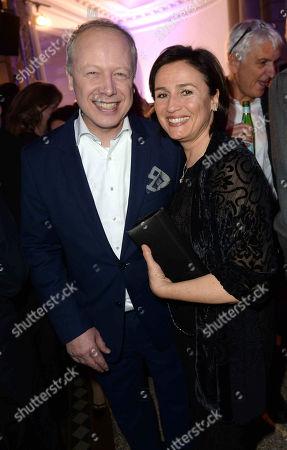 Tom Buhrow, Sandra Maischberger