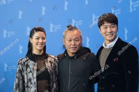 Mina Fuji, Lee Sung Jae and Kim Ki Duk
