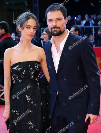 Stock Image of Danila Kozlovsky and Olya Zueva