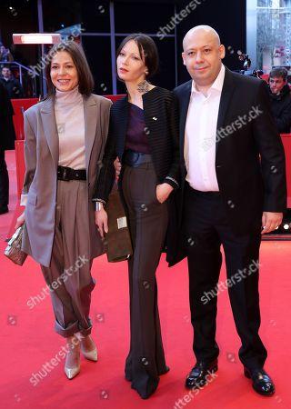Elena Lyadova, Elena Okopnaya and Alexey German Jr.