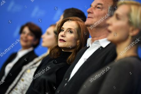 Isabelle Huppert and Benoit Jacquot