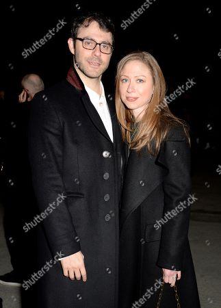 Marc Mezvinsky and Chelsea Clinton