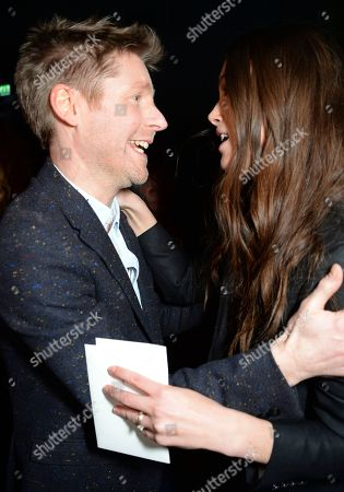 Christopher Bailey and Keira Knightley